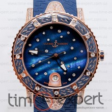 Ulysse Nardin Lady Diver Starry Night Automatic Gold-Blue