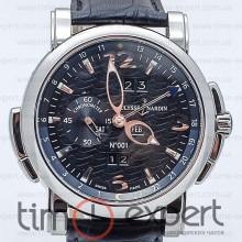 Ulysse Nardin GMT+/-Perpetual Steel-Black
