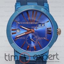 Ulysse Nardin GMT Dual Time Blue-Gold