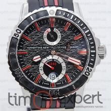 Ulysse Nardin Maxi Marine Diver Black Red line