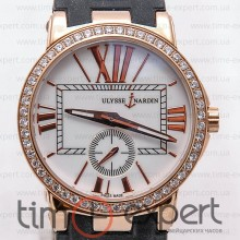 Ulysse Nardin Dual Time Ladies Gold-Write