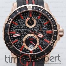 Ulysse Nardin Maxi Marine Diver Gold-Black Red line