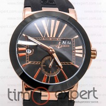 Ulysse Nardin GMT Dual Time Gold-Black