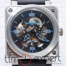 Bell&Ross Aviation Br 01 Aviation Skeleton Blue