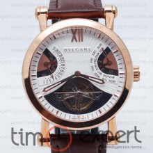 Bvlgari Sotirio Tourbillon Gold-Write-Brown