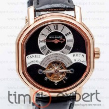 Bvlgari Daniel Roth Tourbillon Gold-Black