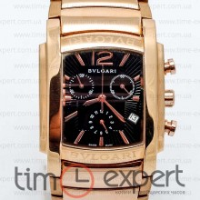 Bvlgari Rettangolo Black-Gold Bracelet