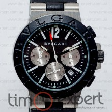 Bvlgari Diagono Chronograph All Black