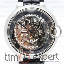 Cartier Santos De Cartier Skeleton Black