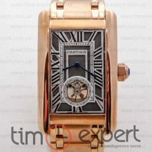 Cartier Tank Turbillon Gold