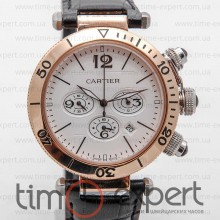 Cartier Pasha De Cartier Chronograph Gold-Write