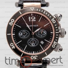 Cartier Pasha De Cartier Chronograph Gold-Black