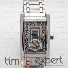Cartier Tank Turbillon Steel