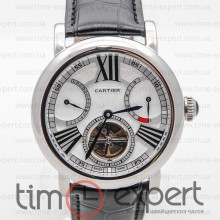 Cartier Ronde Solo De Cartier Turbillon Steel-Write