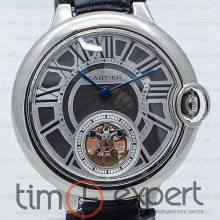 Cartier Ballon Turbillon Steel-Gray