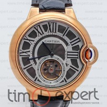 Cartier Ballon Turbillon Gold-Gray