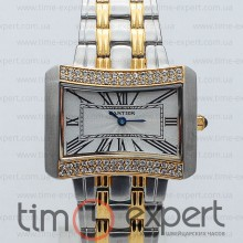 Cartier Jeweled Watches Gold-Silver-Diamond