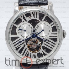 Cartier Captive De Cartier Turbillon Silver-Black-Gray