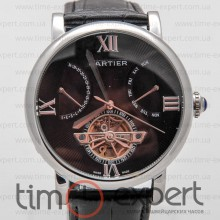 Cartier Ronde Solo De Cartier Turbillon Steel-Black