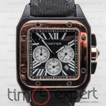 Cartier Santos De Cartier 100 Chronograph