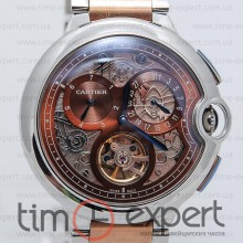 Cartier Ballon De Cartier Steel-Gold-Brown