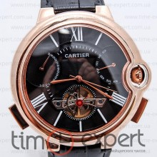 Cartier Ballon Turbillon Gold-Black