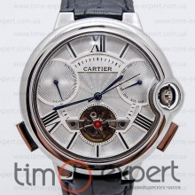 Cartier Ballon Turbillon Silver-Write