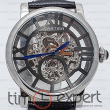 Cartier Rotonde De Cartier Skeleton Steel-Gray