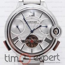 Cartier Ballon Turbillon Silver-Write Bracelet