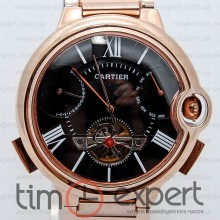 Cartier Ballon Turbillon Gold-Black Bracelet