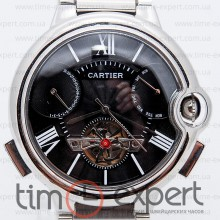 Cartier Ballon Turbillon Steel-Black Bracelet