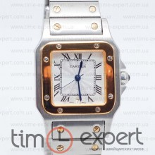 Cartier Santos De Cartier Silver-Gold Bracelet