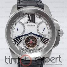 Cartier Calibre De Cartier Diver Turbillon Silver-Write