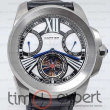 Cartier Calibre De Cartier Diver Turbillon Steel-Write