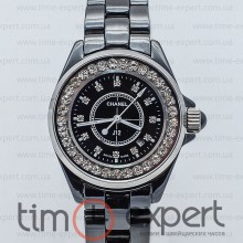 Chanel J12 Black Diamond