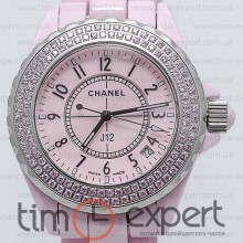 Chanel J12 Pink Diamond