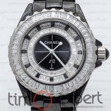 Chanel J12 Cristall Black