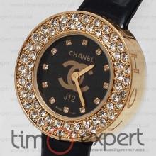 Chanel J12 Gold-Black
