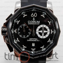 Corum Admiral's Cup Chronograph Steel-Black