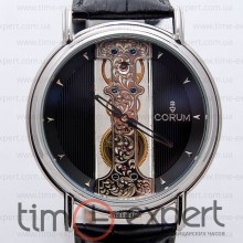 Corum Golden Bridge Steel-Black