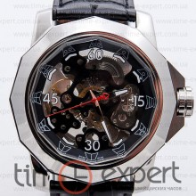 Corum Skeleton Silver-Black