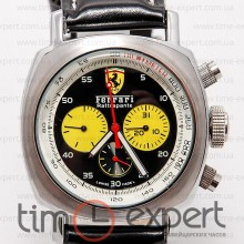 Ferrari Chrono Silver-Black-Yellow