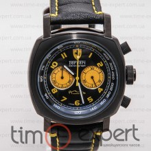 Ferrari Chronograph California Black-Yellow