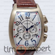 Franck Muller Cintree Curvex Gold-Write-Brown