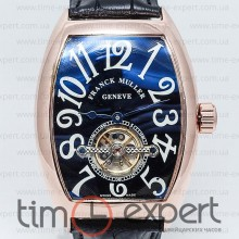 Franck Muller Curvex Tourbillon Gold-Black