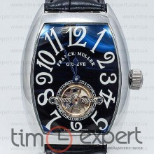 Franck Muller Cintree Curvex Tourbillon Steel-Black