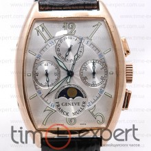 Franck Muller Cintree Curvex Chronograph Silver-Gold