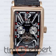 Franck Muller Long Island Tourbillon Black-Gold