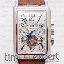 Franck Muller Long Island Tourbillon Silver-Write