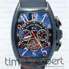 Franck Muller Cintree Curvex Tourbillon Black